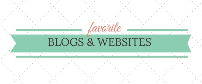 Favorite Blogs & Websites