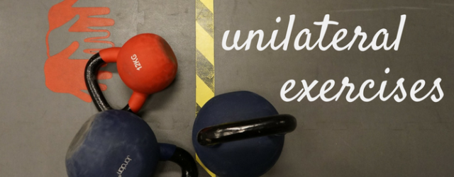 Unilateral Exercises